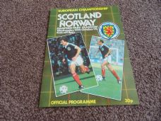 Scotland v Norway, 1978 [EC]